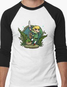 Zelda Wind Waker Forbidden Woods Temple Men's Baseball ¾ T-Shirt