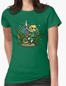 Zelda Wind Waker Forbidden Woods Temple Womens Fitted T-Shirt