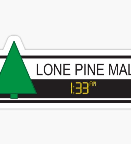 Lone Pine Mall Sticker