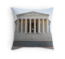 Jefferson Memorial - Front Throw Pillow