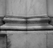 Jefferson Memorial - Column Detail by Pschtyckque