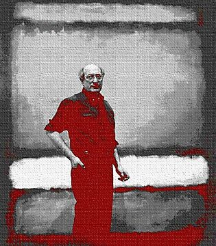 ROTHKO IN RED AND GREY by Terry Collett