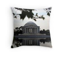 Jefferson Memorial - Dawn Throw Pillow