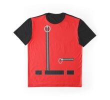 Captain Scarlet Blue Grey WHATEVER Graphic T-Shirt