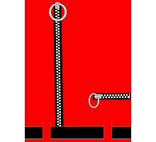 Captain Scarlet Blue Grey WHATEVER Photographic Print