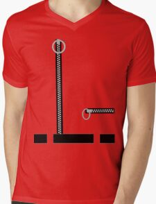 Captain Scarlet Blue Grey WHATEVER Mens V-Neck T-Shirt