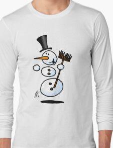 Dancing snowman T-Shirt