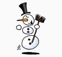 Dancing snowman Long Sleeve T-Shirt