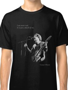 Conor Oberst - I am never real Classic T-Shirt