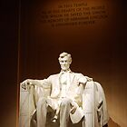 Lincoln Memorial - Portrait by Pschtyckque