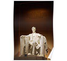 Lincoln Memorial - Portrait Poster