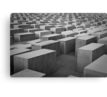 Endless Blocks Canvas Print