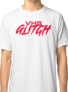 VHS Glitch - Red Edition Classic T-Shirt