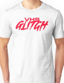 VHS Glitch - Red Edition Unisex T-Shirt
