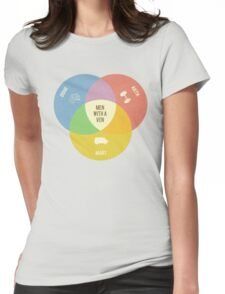 Men With A Ven(n) Womens Fitted T-Shirt