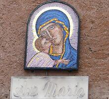 """""""Ave Maria"""" house shrine, Rome 2012 by kgarrahan"""