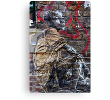 Street Art in London ( Swoon series) Canvas Print