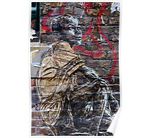 Street Art in London ( Swoon series) Poster