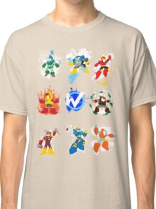 Robot Masters of Mega Man 2 Classic T-Shirt