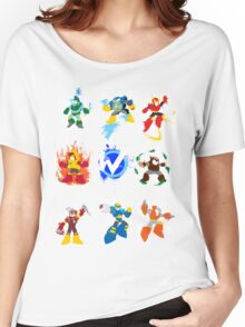 Robot Masters of Mega Man 2 Women's Relaxed Fit T-Shirt