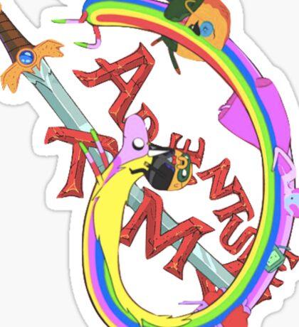 Adventure Time Mash Sticker