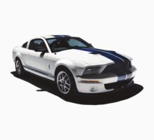Ford Mustang GT500 Shelby by Red23UK