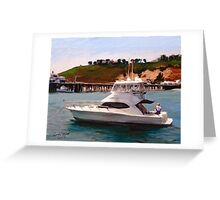 Gail Anne at Malibu Pier Greeting Card