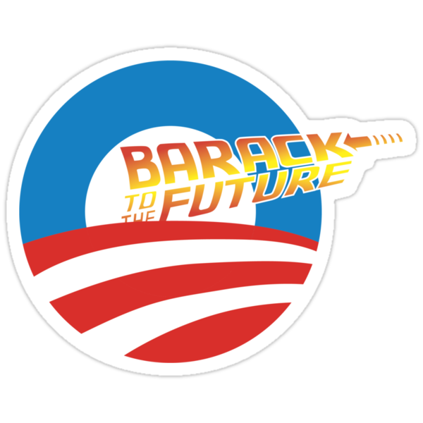 Barack to the Future II by happyweasel