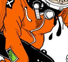 Be A HERO -Skate edition- Sticker