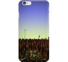 Sorghum Fields Forever iPhone Case/Skin