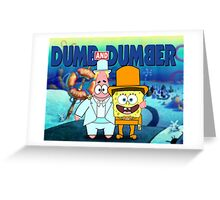 Dumb and Dumber Greeting Card