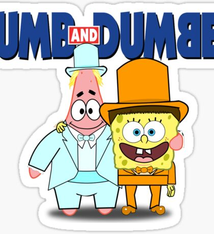 Dumb and Dumber Sticker