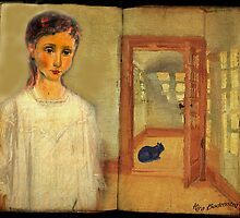 You left me the Cat - thank you for that by © Kira Bodensted