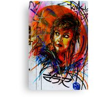 Street Art in London Canvas Print