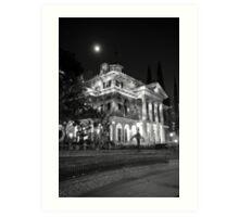 Haunted Mansion - Night Art Print