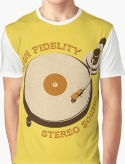 'High Fidelity' Graphic T-Shirt