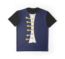 Midshipman Napoleonic RN Cosplay Instant Hornblower Graphic T-Shirt