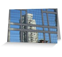 Chicago Architecture #1, November 2010 Greeting Card