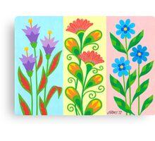 TREE NICE FANTASY FLOWERS Canvas Print