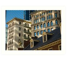 The Old State House, Boston, MA Art Print