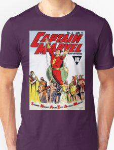 SHAZAM! THE WORLD'S MIGHTIEST MORTAL COMIC COVER T-Shirt
