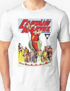 SHAZAM! THE WORLD'S MIGHTIEST MORTAL COMIC COVER T-Shirt