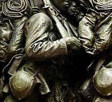 Robert Gould Shaw & the 54th Regiment Statue, Boston, MA by bostonart