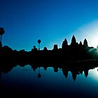 Cold Sunrise at Angkor Wat by Simon Kirwin
