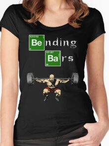 Breaking Bad Walter White Gym Motivation Women's Fitted Scoop T-Shirt