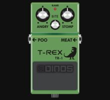 T-Rex Distortion Pedal by jezkemp