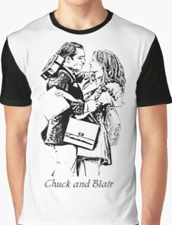 Chuck and Blair - I love you Graphic T-Shirt