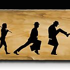 Darwin's Evolution of the Silly Walk by Richard  Gerhard