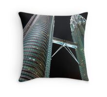 Menara Berkembar Petronas Throw Pillow