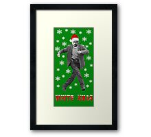 Walter White Xmas Framed Print